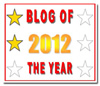 BEst of 2012 Blog Award