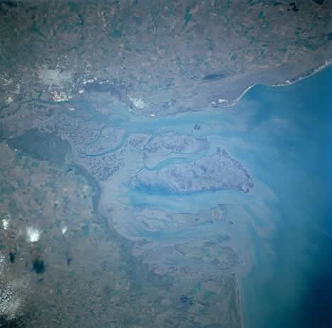 Bahia Blanca from Space