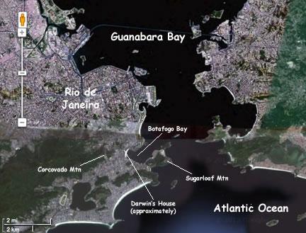 Botafogo Bay Map