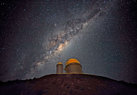 southern sky over La Silla