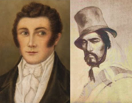 Luis Vernet and Antonio Rivero
